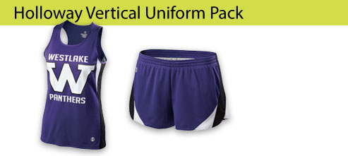 Women's Holloway Vertical Singlet Track and Field Uniforms