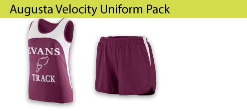Women's Augusta Velocity Track and Field Uniforms