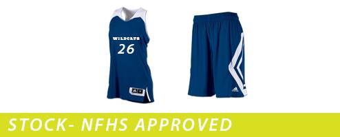 Women's Adidas Clutch Reversible Basketball Uniforms