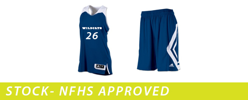 Women's Adidas Clutch Reversible Basketball Uniforms