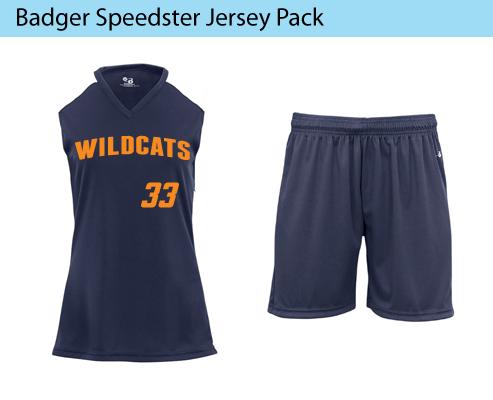 Women's Badger Speedster Ladies Softball Uniforms