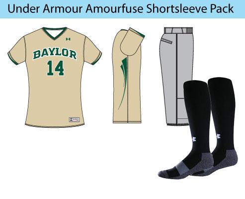 Women's Under Armour Armourfuse Shortsleeve Softball Uniforms