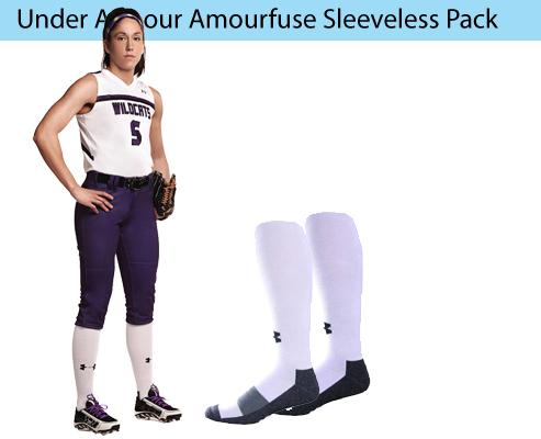 Women's Under Armour Armourfuse Sleeveless Softball Uniforms