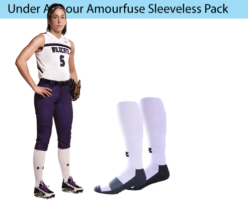 Women's Under Armour Armourfuse Sleeveless Softball Uniforms