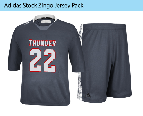Men's Adidas Stock Zingo Lacrosse Uniforms