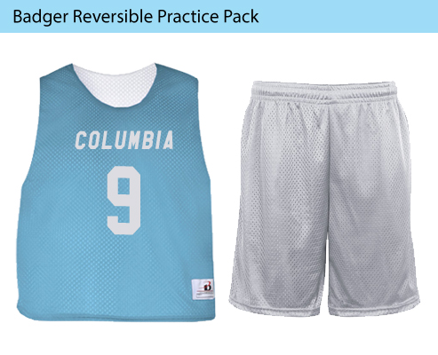 Men's Badger Reversible Practice Lacrosse Uniforms