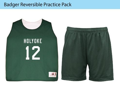 Women's Badger Reversible Lacrosse Uniforms