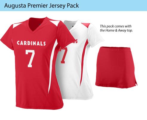 Women's Augusta Premier Lacross Uniforms