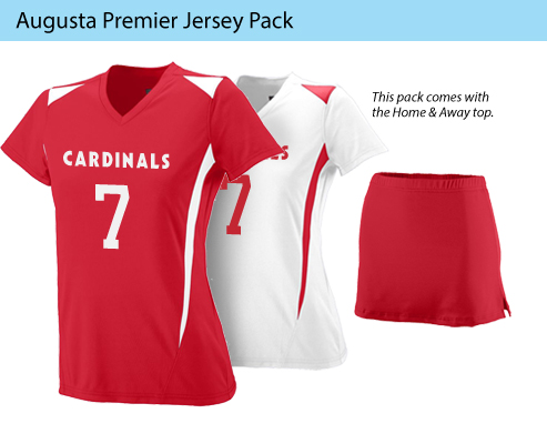Women's Augusta Premier Lacross Uniforms