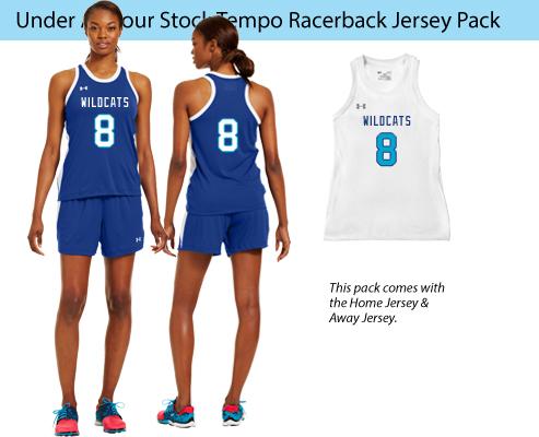 Women's Under Armour Recruit Sleeveless Lacrosse Uniforms