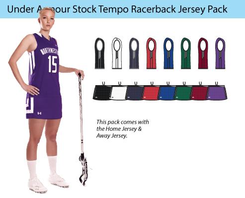 Women's Under Armour Tempo Racerback Lacrosse Uniforms