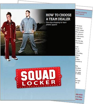 Kick off your search for a partner that will save you money on team gear without sacrificing performance or aesthetics