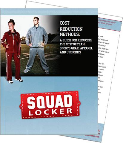 Learn how to save money on the cost of team sports gear, apparel, and uniforms