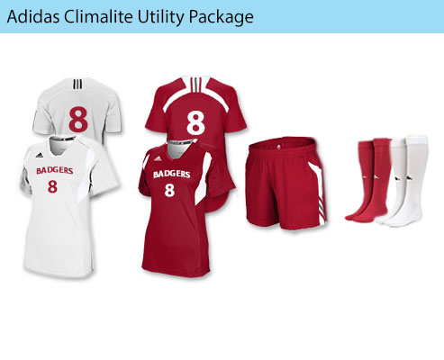Women's Adidas Climalite Utility Soccer Uniforms