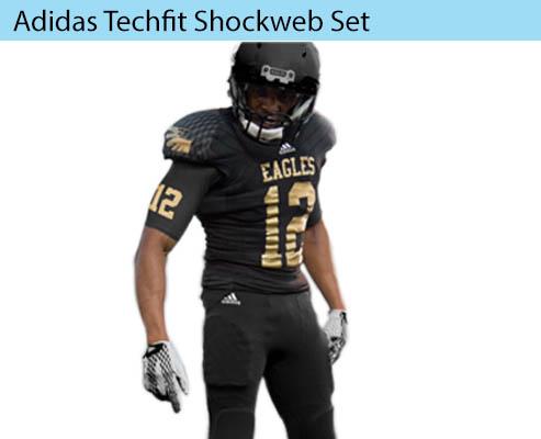 Adidas Techfit Shockweb Men's Football Uniform Set