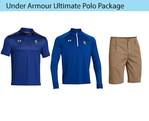 Men's Under Armour Ultimate Polo and Pleated Performance Shorts Coaching Apparel