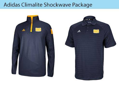Men's Adidas Climalite Shockwave Coaching Apparel