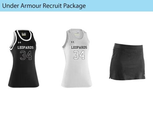 Women's Under Armour Recruit Sleeveless Field Hockey Uniforms