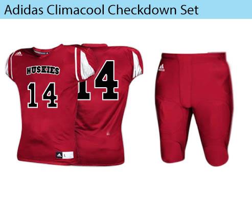Adidas Climacool Checkdown men's football uniform