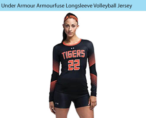 Women's Under Armour Armourfuse Longsleeve Volleyball Uniforms