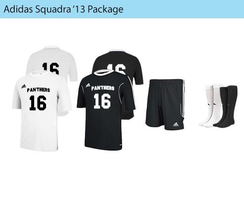 Men's Adidas Squadra 13 Soccer Uniforms