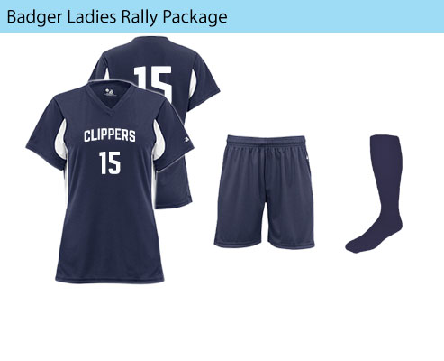 Women's Badger Rally Soccer Uniforms
