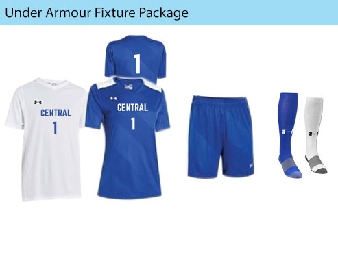 Women's Under Armour Fixture Soccer Uniforms