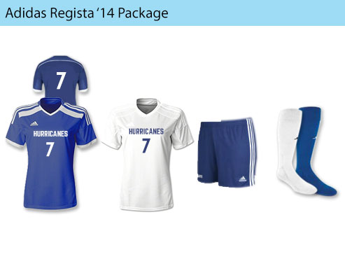 Women's Adidas Registra '14 Soccer Uniforms