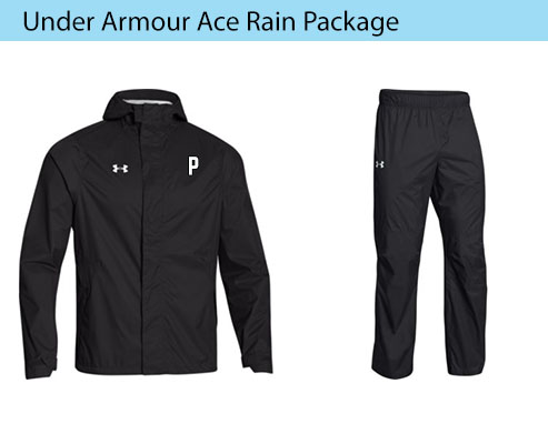 Men's Under Armour Ace Rain Jacket and Pants Coaching Apparel