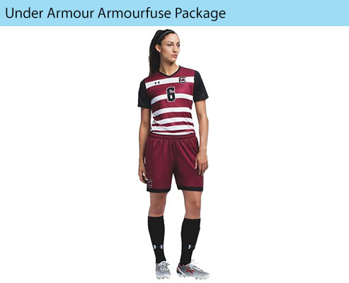 Women's Under Armour Armourfuse Soccer Uniforms