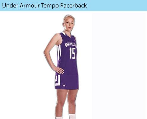 Women's Under Armour Tempo Racerback Field Hockey Uniforms