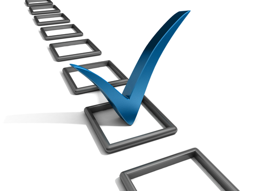 sports fundraising checklist