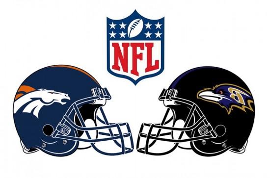Broncos Ravens Football Jerseys