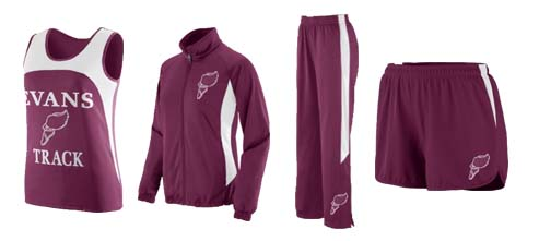 Women's Augusta Velocity Track and Field Uniforms and Medalist Jacket and Pants