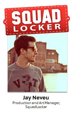 Jay Neveu, SquadLocker employee