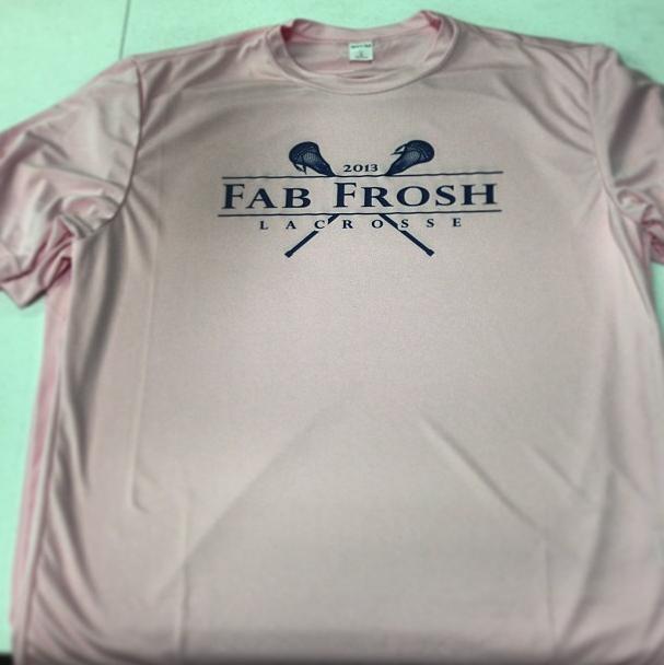 Fab Frosh Lacrosse t shirt