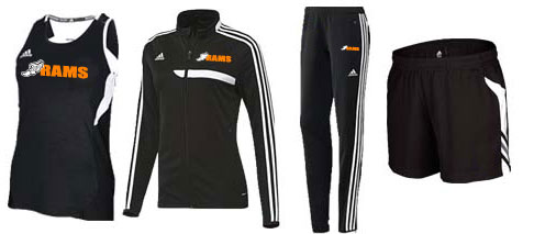 Women's Adidas Climalite Utility Singlet and Tiro '13 Training Track And Field Uniforms