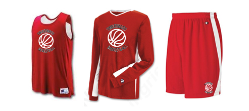 Men's Champion Basketball Uniforms Double Dry and Reversible