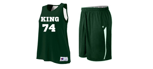 Women's Champion Double Dry Reversible Basketball Uniforms
