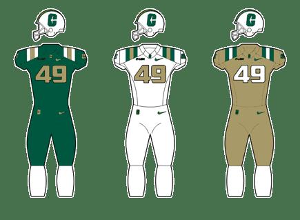 Charlotte 49ers Uniform examples