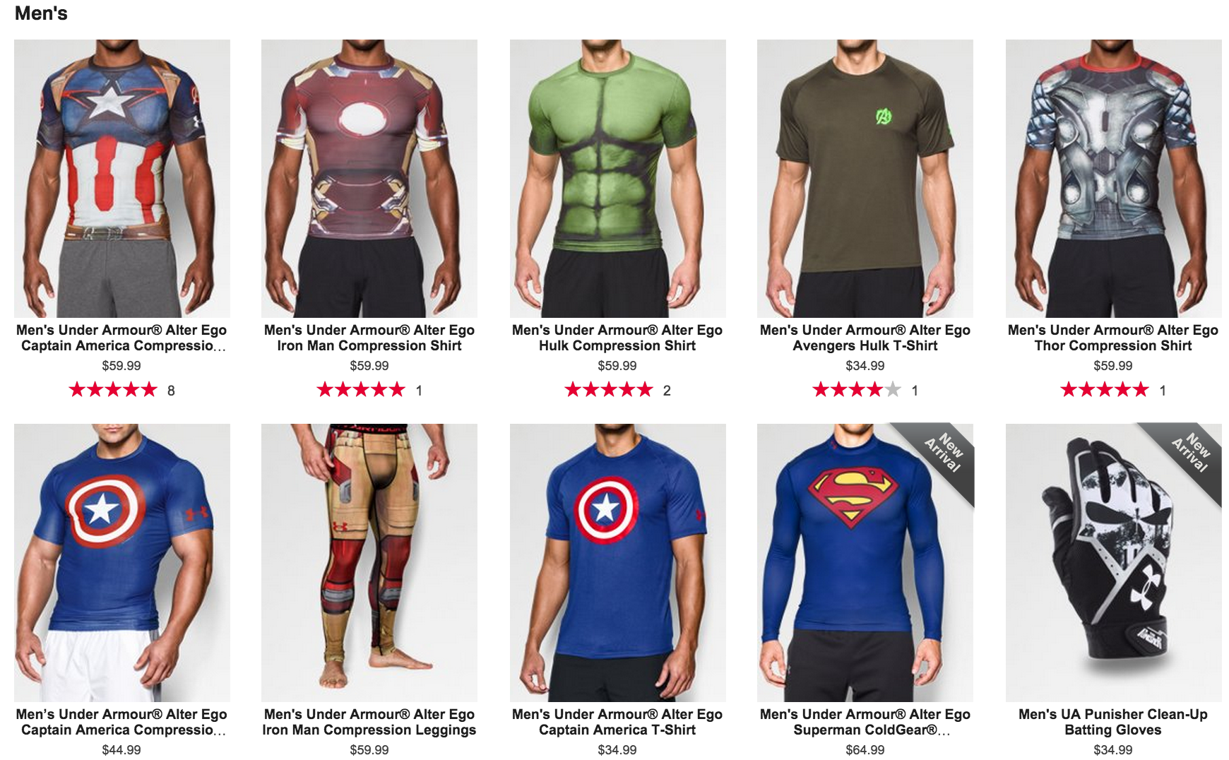 under armour apparel collection