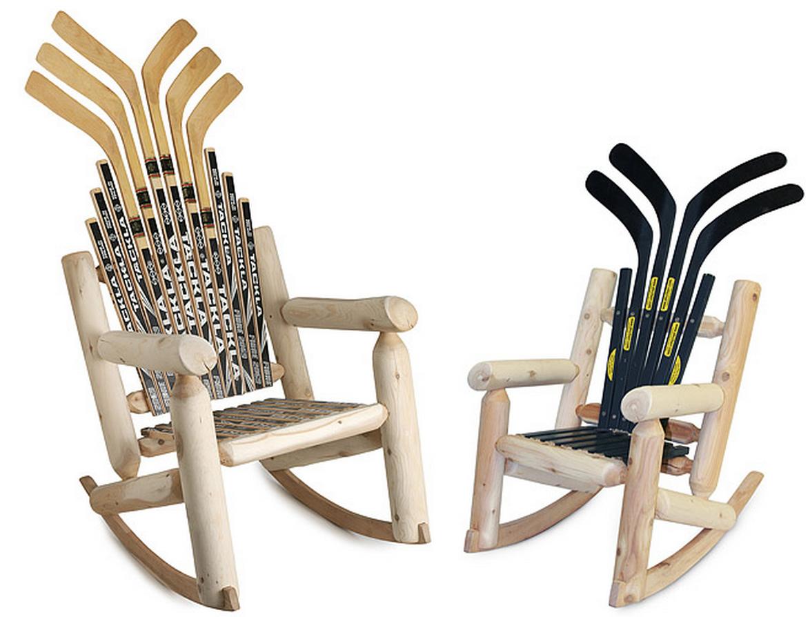 hockey gifts with hockey sticks