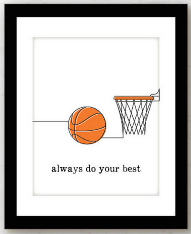 basketball gifts - etsy