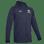 UA Hustle Fleece Full Zip Hoodie