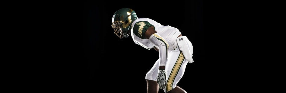 SOUTH FLORIDA BULLS FOOTBALL UNIFORMS