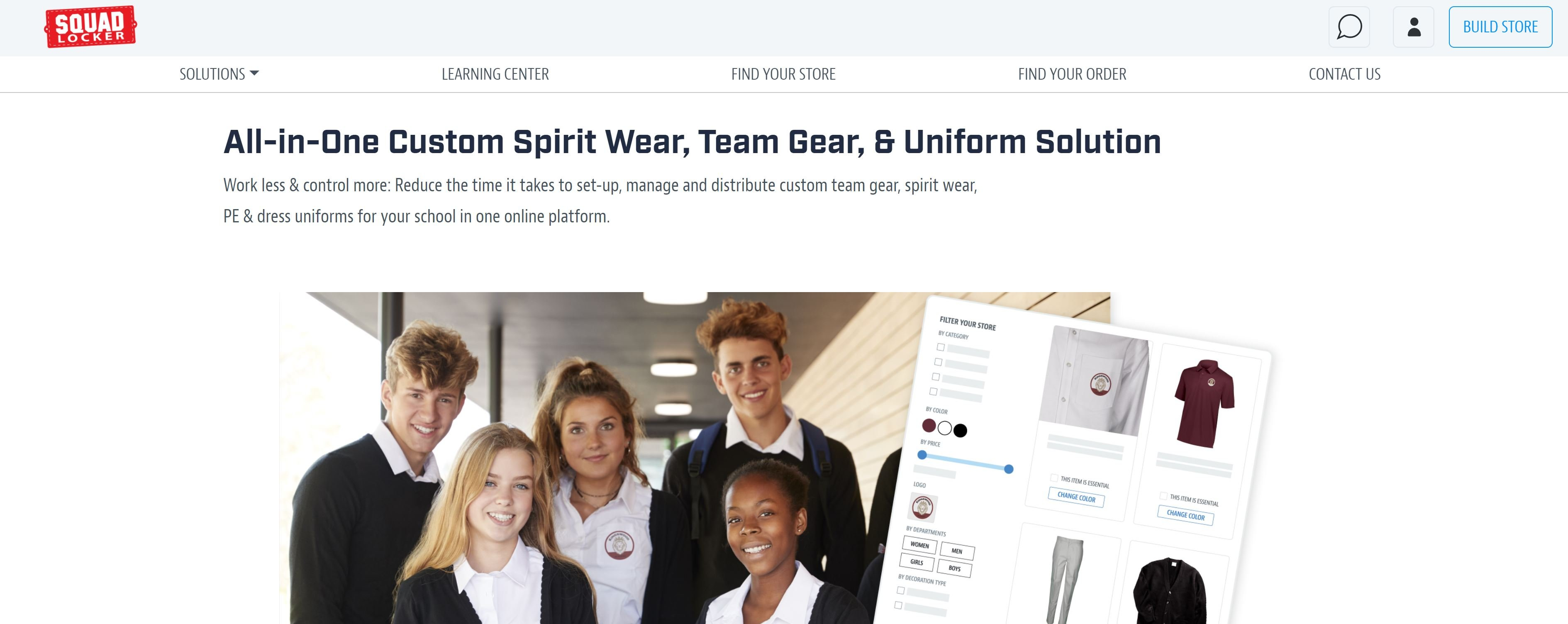 SquadLocker - Online custom apparel
