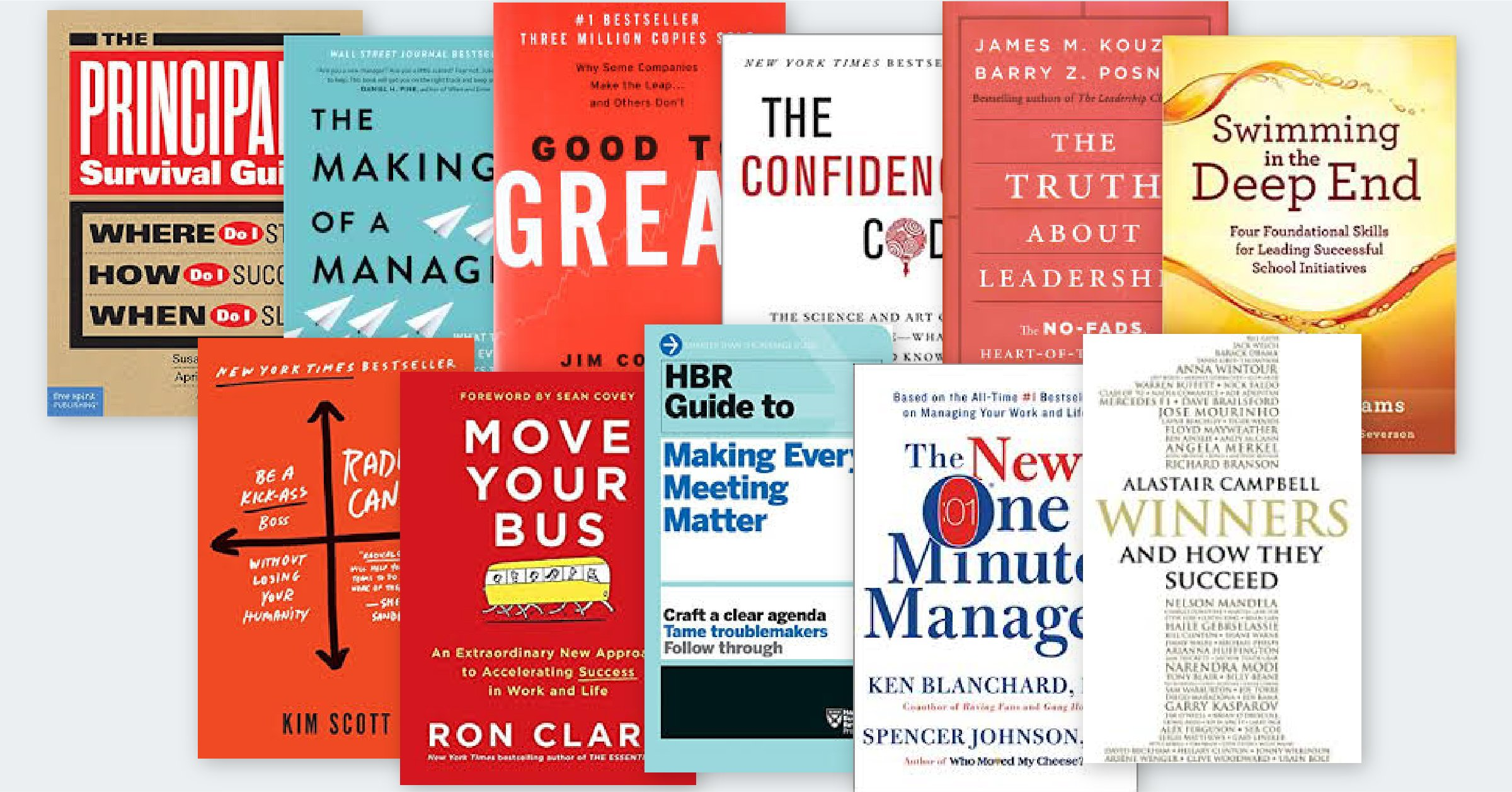 11 Must-Read Books for School Leaders