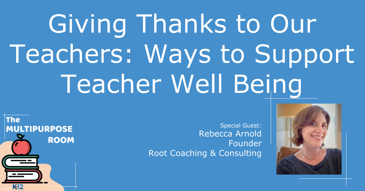 5 Asks to Support Teacher Well Being