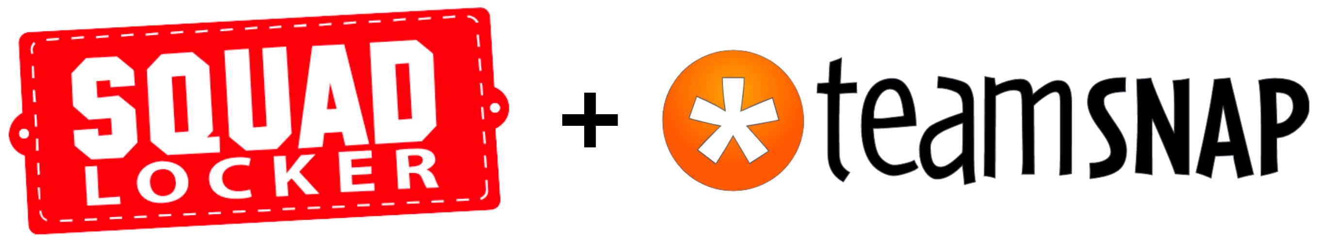 SquadLocker and TeamSnap Logos