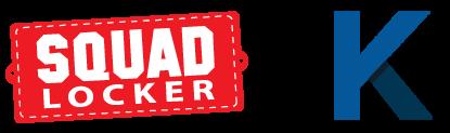 SquadLocker and K12 Logos